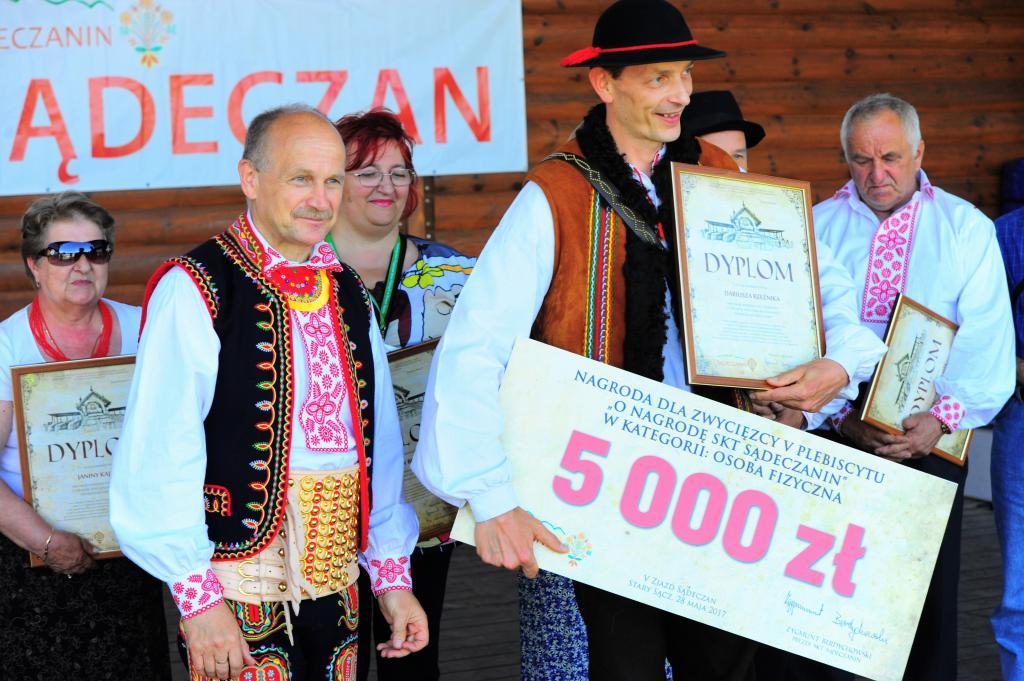 Nagroda SKT Sądeczanin dla Dariusza Rzeźnika
