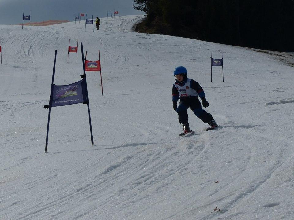 .Zawody narciarskie w Jaworkach