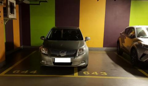 Nowy Sącz: grzeczny inaczej czy po prostu nie umie parkować?