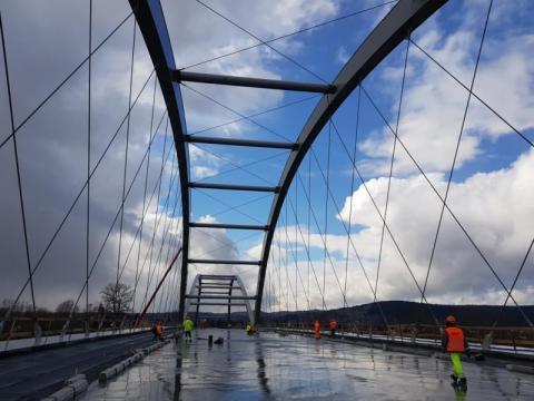 Weszliśmy na most heleński, fot. Iga Michalec