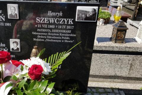 Druga rocznica śmierci śp. red. Henryka Szewczyka, fot. Iga Michalec