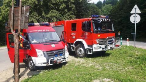 Tragedia na drodze krajowej w Tyliczu. Nie żyje kierowca