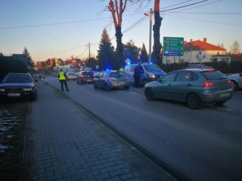 Uciekał przed policją kradzionym autem. Został zatrzymany na ul. Węgierskiej