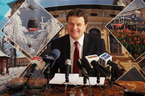 Dariusz Reśko, burmistrz Krynicy