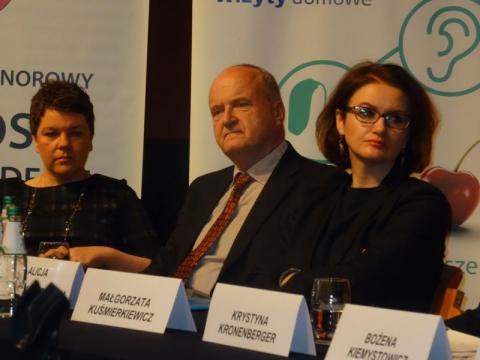 partnerzy konferencji, podziękowania, fot. Iga Michalec