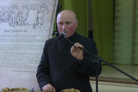 Ksiądz Józef Babicz proboszcz parafii w Marcinkowicach