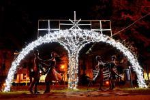 świąteczny klimat w Nowym Sączu