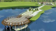 Czy Gródek nad Dunajcem stanie się rajem dla wczasowiczów? Zbudują taras i platformę widokową na jezioro