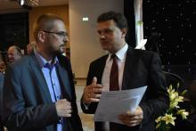 Wojciech Król i Dariusz Reśko. Fot Andrzej Kalinowski