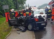 Poważny wypadek w Młodowie. Jedna osoba była reanimowana
