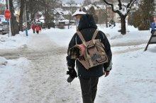 Zima w Krynicy