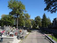 Prace porządkowe na sądeckich nekropoliach