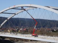 Kończą się prace na moście heleńskim, fot. Iga Michalec