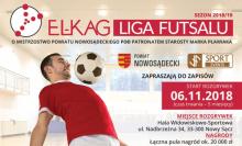 Zapisz drużynę do El-Kag Ligi Futsalu 2018/19