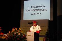 uroczysta inauguracja roku akademickiego 2018/2019 Państwowej Wyższej Szkoły Zawodowej w Nowym Sączu
