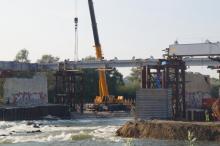 Most heleński połączony