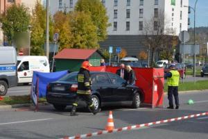 Śmiertelny wypadek na ulicy I Brygady