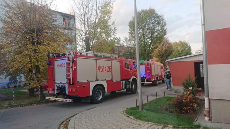 Nie mogli wejść do mieszkania. Gdy strażacy wyważyli drzwi, znaleźli zwłoki