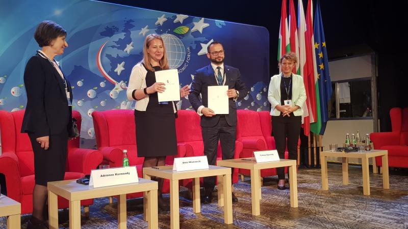 Sukces Forum: powstanie Polsko - Węgierska Izba Gospodarcza