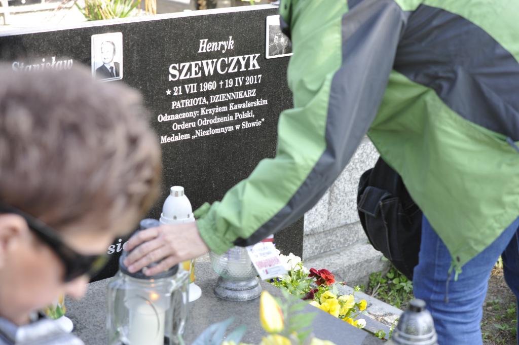 Pierwsza rocznica śmierci Henryka Szewczyka