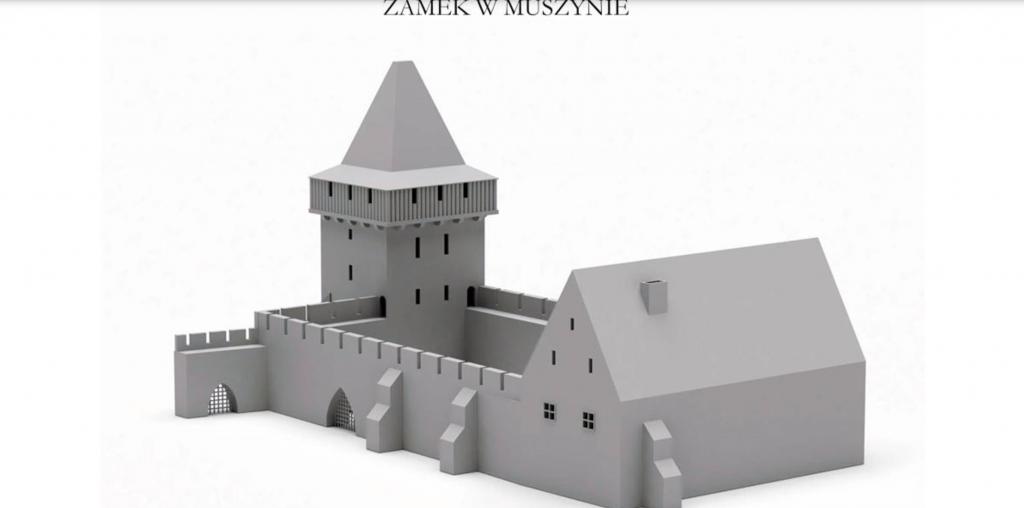Czy tak wyglądał zamek w Muszynie?