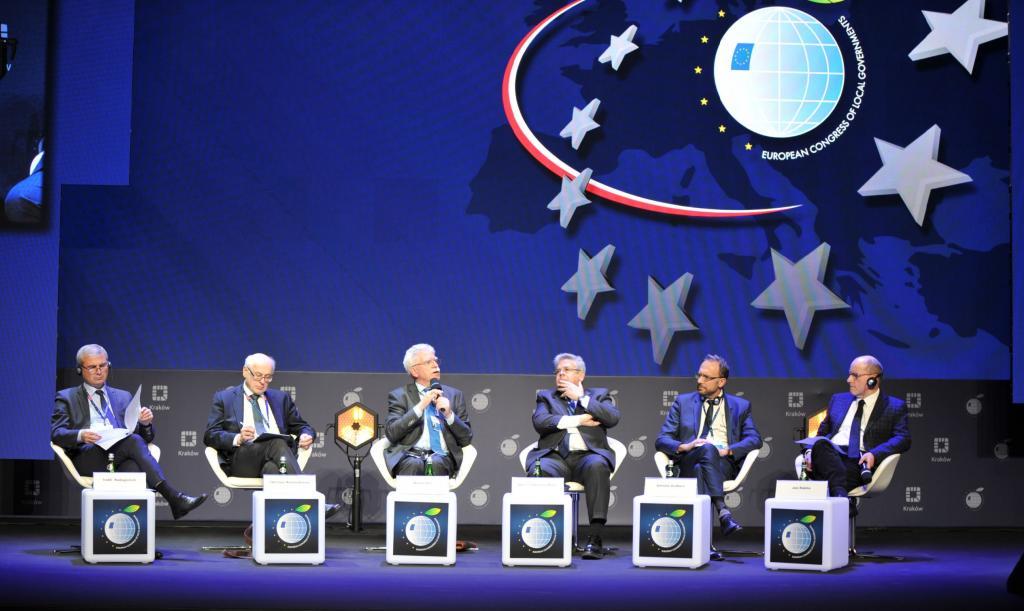 Debata finałowa podczas Europejskiego Kongresu Samorządów w Krakowie