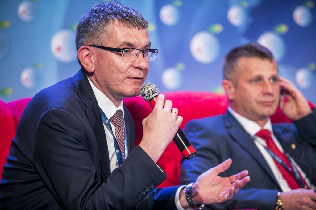 Jacek Lelek, burmistrz Starego Sącza. Fot. Piotr Droździk