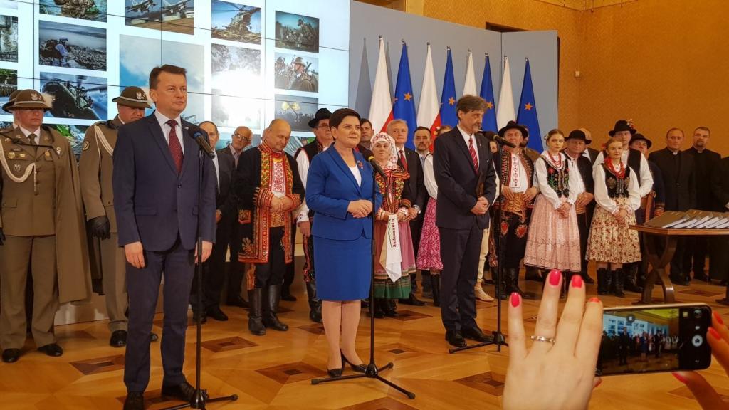 Wojsko Polskie wraca do Nowego Sącza - ogłosili dziś wicepremier Beata Szydło i minister obrony narodowej Mariusz Błaszczak