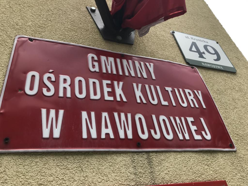 Gminny Ośrodek Kultury w Nawojowej. Fot. TK
