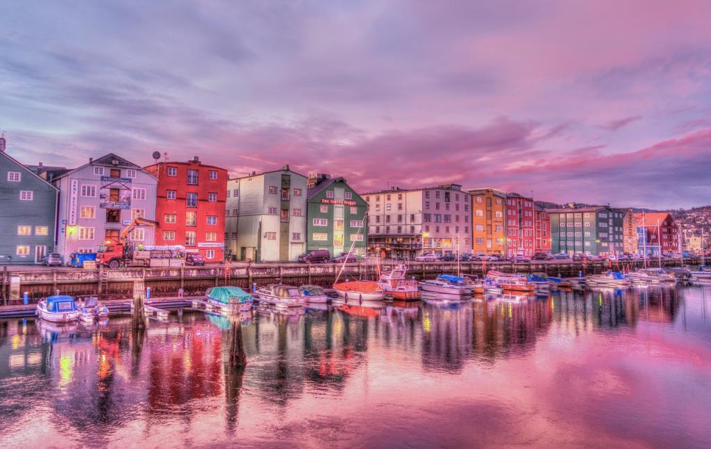 Norwegia Tronhdheim Fot. Pixabay