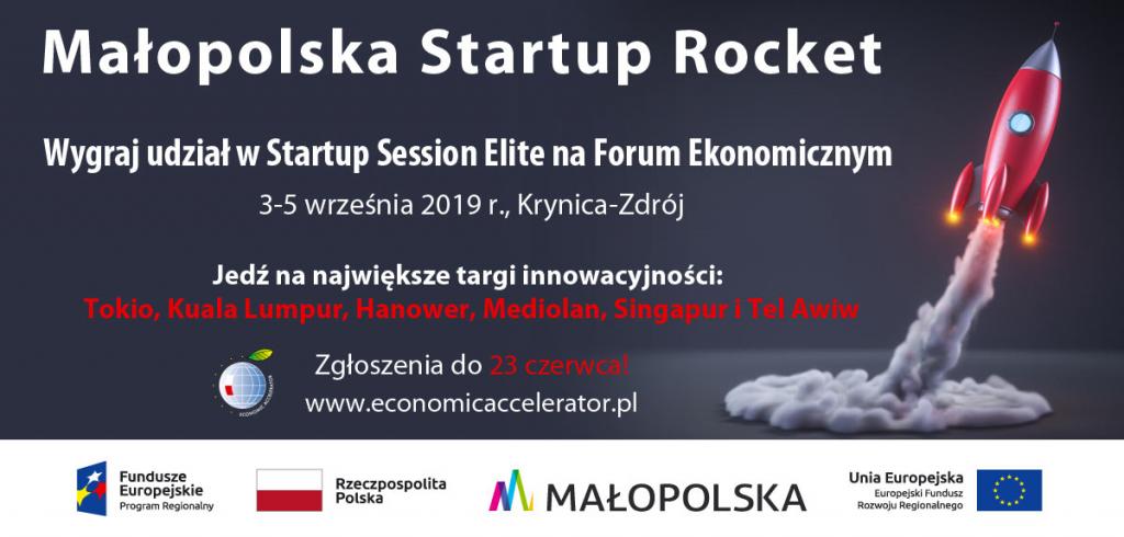 Ruszyła druga rekrutacja do projektu Małopolska Startup Rocket!