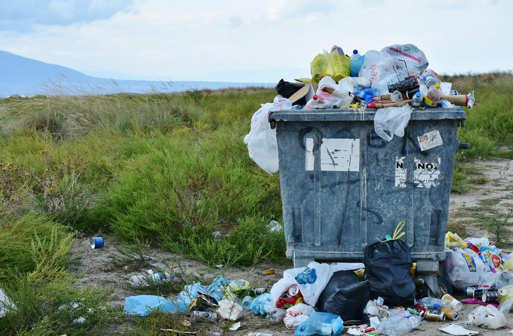 śmieci plastikowe