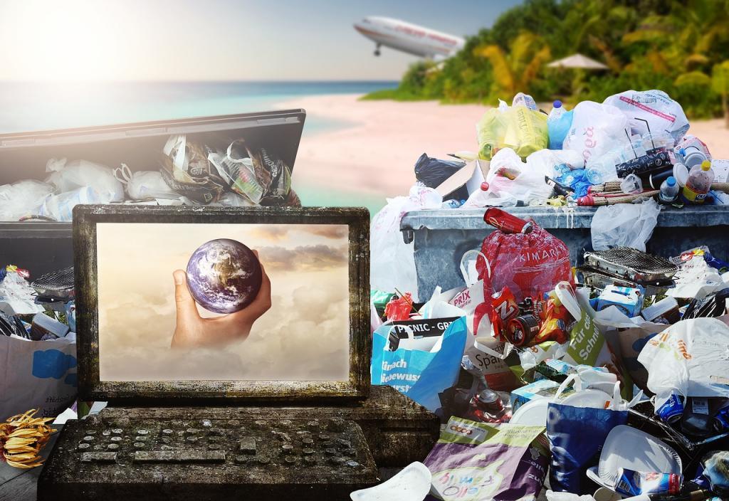 śmieci. fot Pixabay