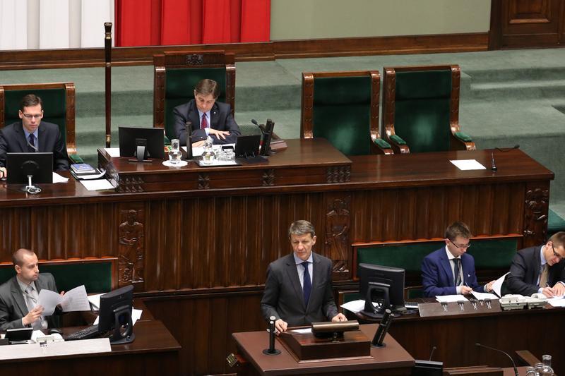Poseł Andrzej Czerwiński: wystąpienie w Sejmie RP