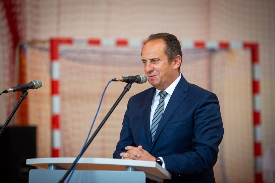 Andrzej Gut Mostowy wsparł klub z Jelnej