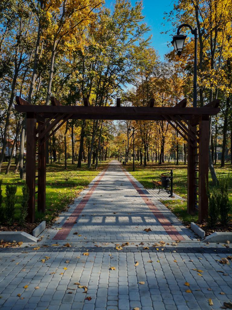 park w Grybowie