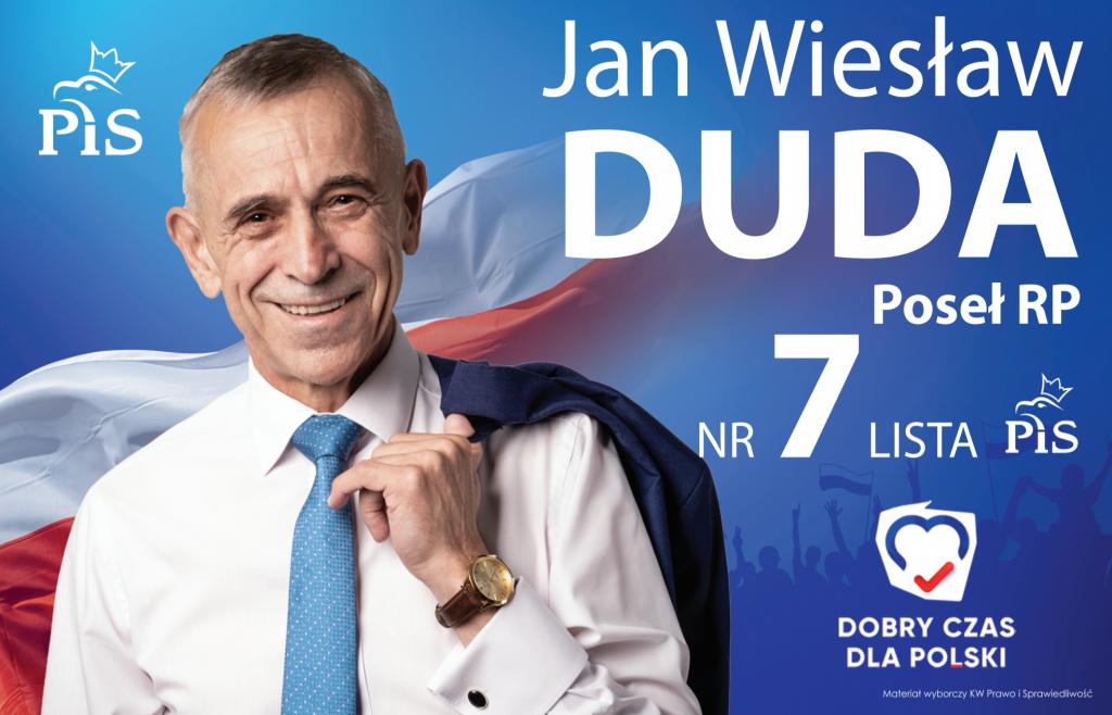 poseł Jan Duda