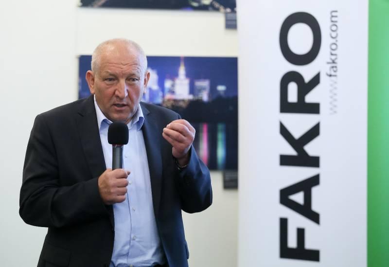 Ryszard Florek, prezes FAKRO