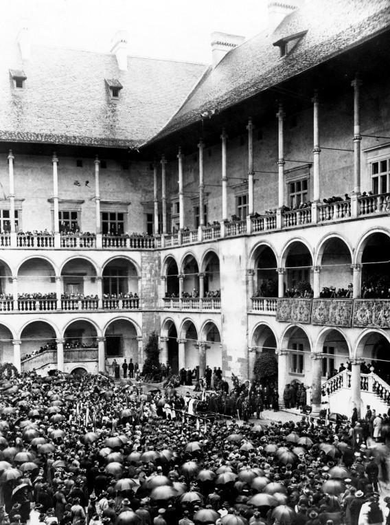 Uroczystości pogrzebowe Juliusza Słowackiego na Wawelu