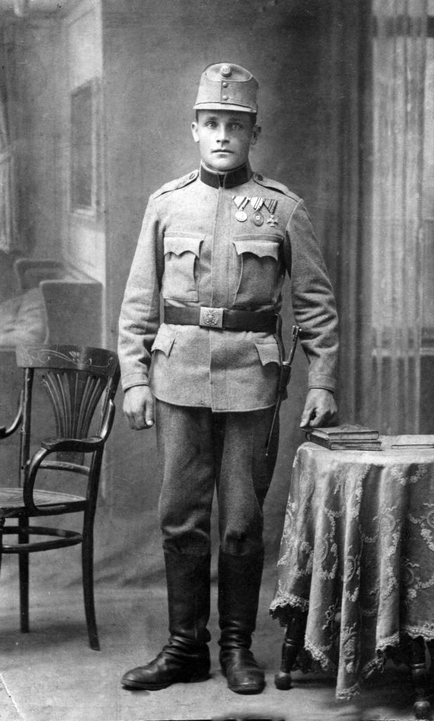Jakub Polański w wojsku austriackim