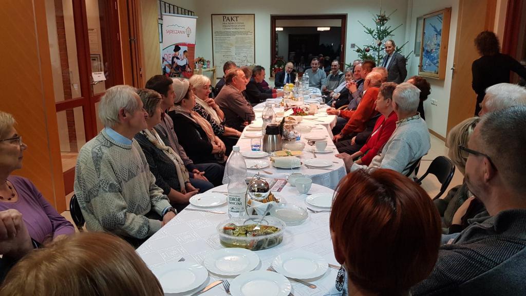 Opłatkowe spotkanie członków Stowarzyszenia Kasy Wzajemnej Pomocy
