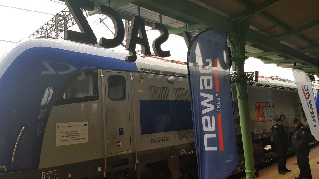 30 nowoczesnych lokomotyw Newagu trafi do PKP Intercity