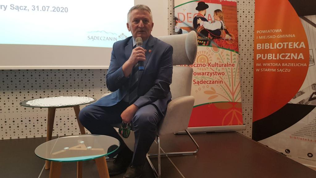 Bogusław Waksmundzki, wicestarosta powiatu nowotarskiego