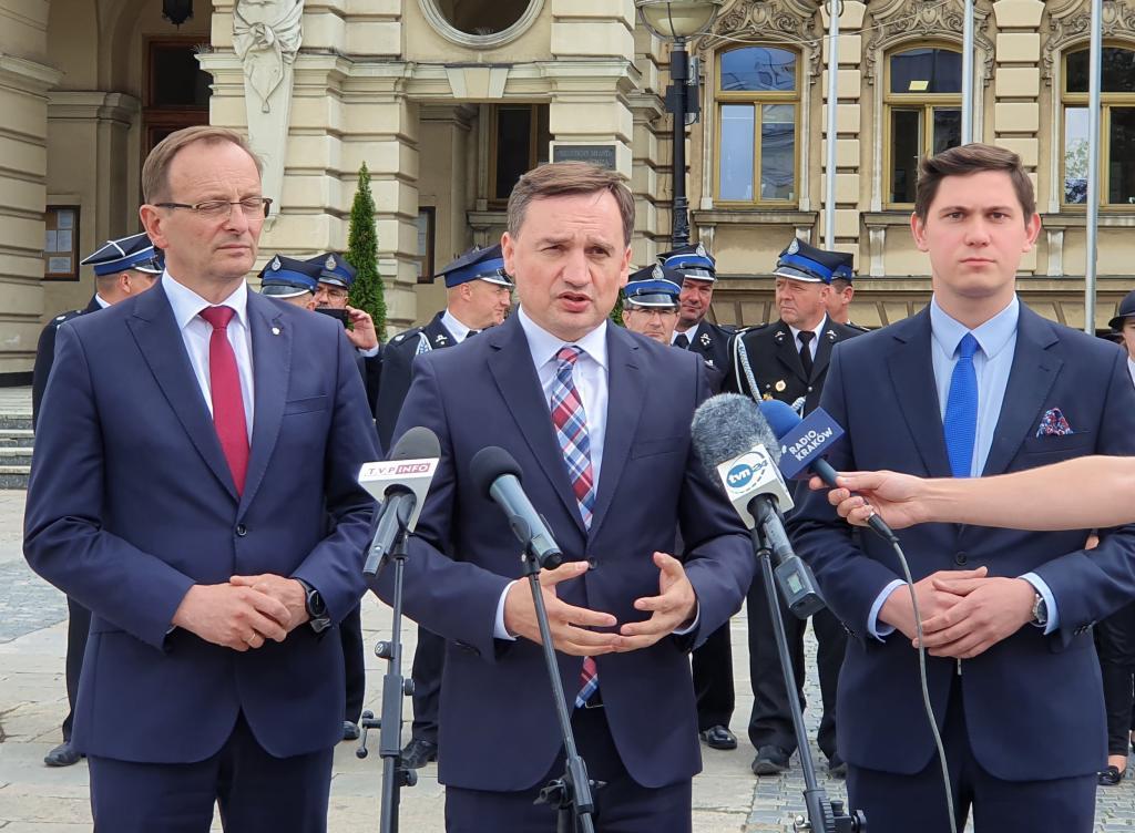 Od tych wyborów bardzo dużo zależy: rozmawiamy z ministrem Zbigniewem Ziobro. Fot. Daniel Szlag
