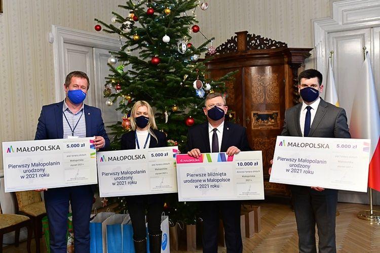 Wyprawki dla małych Małopolan od samorządu województwa