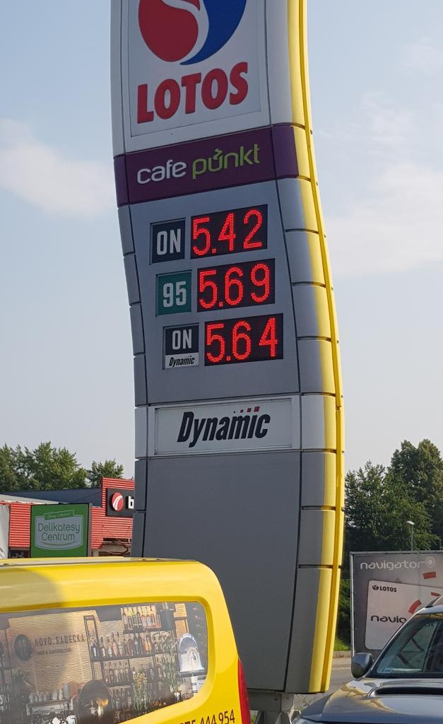 Benzyna i olej napędowy po 6 zł za litr To już kwestia dni, jeśli nie godzin