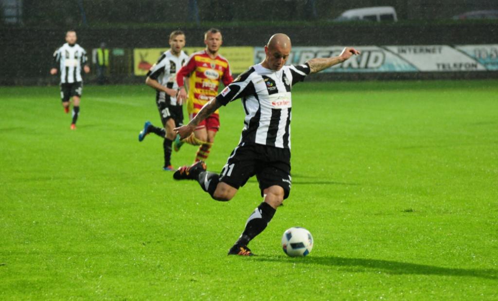 Sandecja Choniczankia mecz 4.09.2016