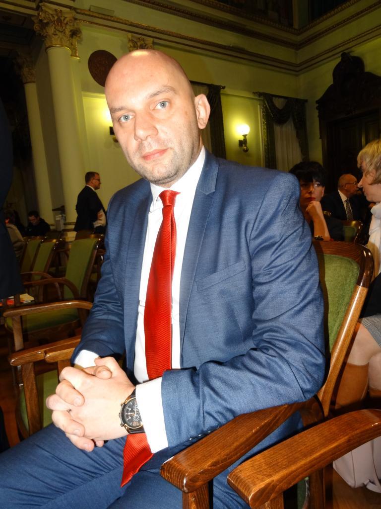 Wiceprezydent Artur Bochenek. Fot. IM