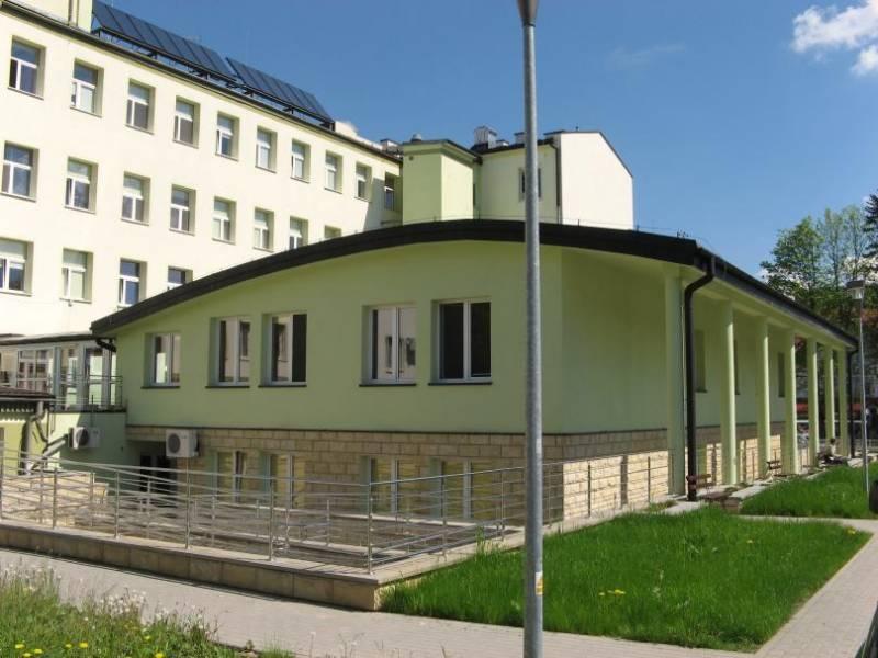 Szpital w Krynicy-Zdroju alarm bombowy
