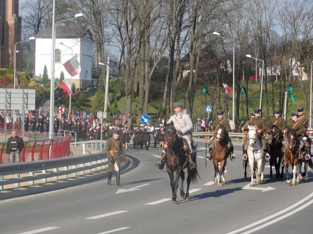 Święto niepodległości w Grybowie